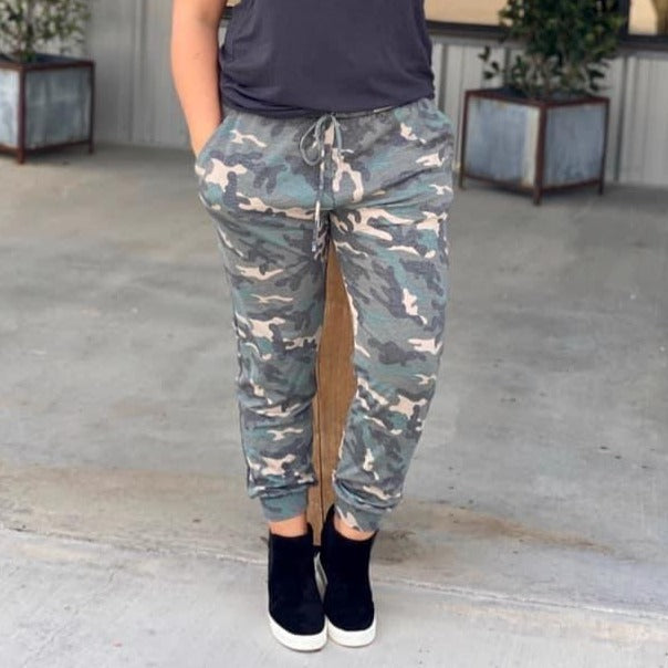 The Camo Joggers