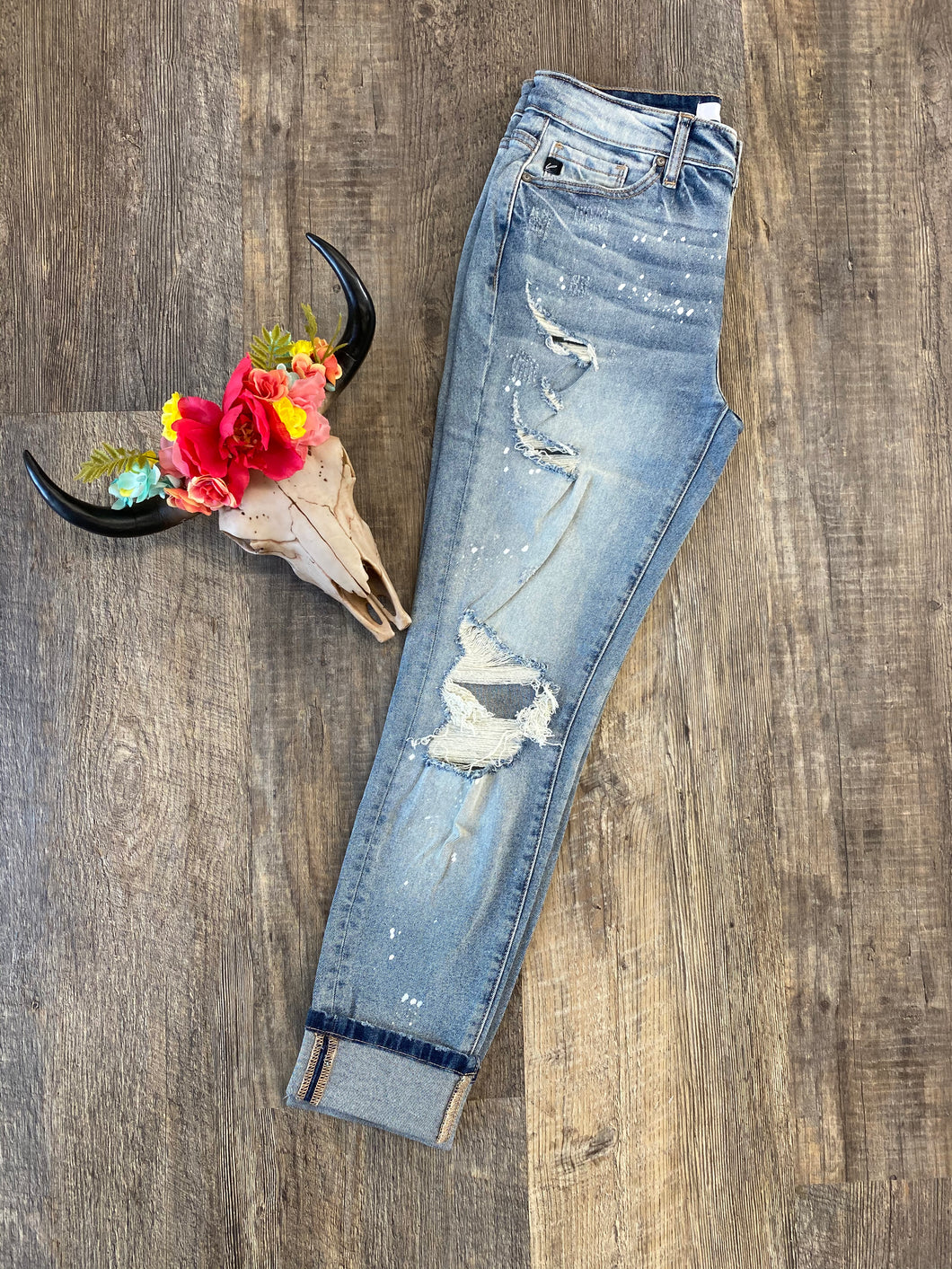 The Painted KanCan Jeans