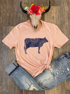 The Paisley Cow Tee