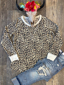 The Cozy Leopard  Long Sleeve