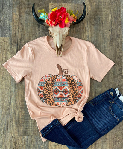 The Aztec Leopard Pumpkin T-Shirt