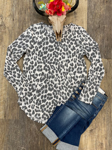 The Grey Leopard Long Sleeve