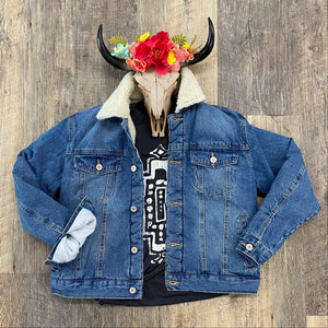 The Sherpa KanCan Denim Jacket