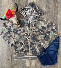 The Camo Zip Up