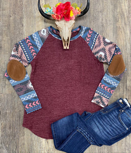 The Cranberry Dixie Long Sleeve