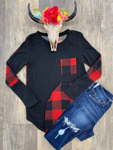 The Plaid Top