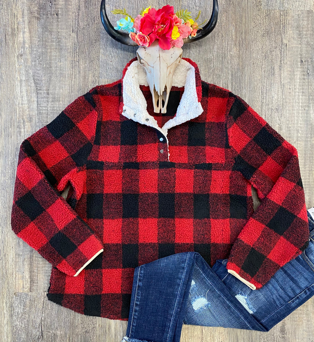 The Buffalo Plaid Pullover