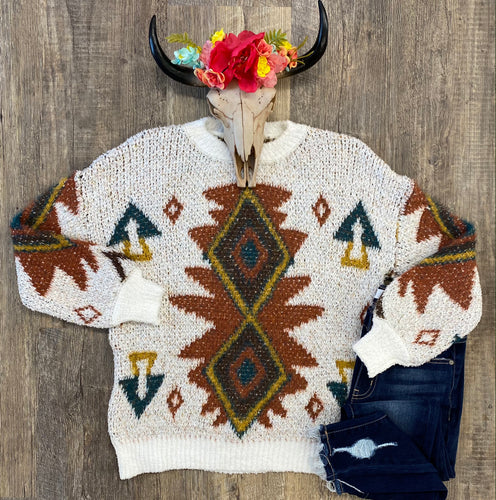 The Aztec Sweater