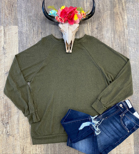 The Olive Long Sleeve
