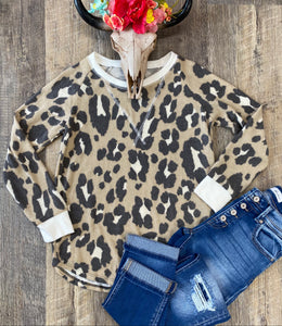 The Fuzzy Leopard Long Sleeve