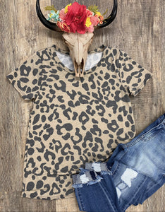 The Mocha Leopard Top