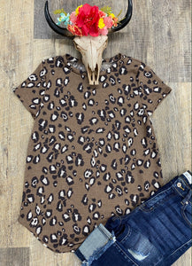 The Basic Leopard Top