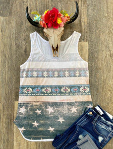 The Stars and Aztec Tank