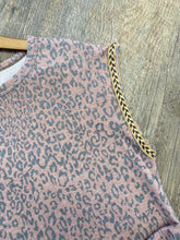 Load image into Gallery viewer, The Burgundy Leopard Top