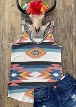 Load image into Gallery viewer, The Waffle Aztec Tank
