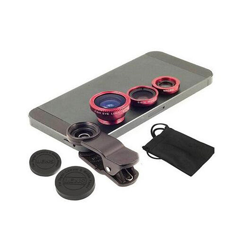 Universal 3in1 Camera Lens Kit for Smart phones