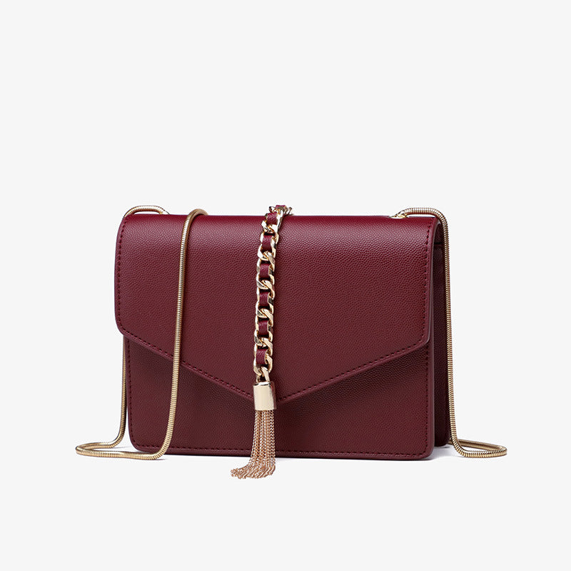 Paillette Chain Strap Shoulder Bag