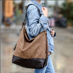 Skew canvas bag