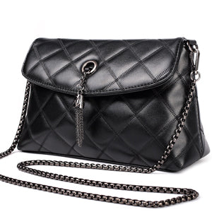 Maidini Diamond Lattice Sheepskin Women Bag