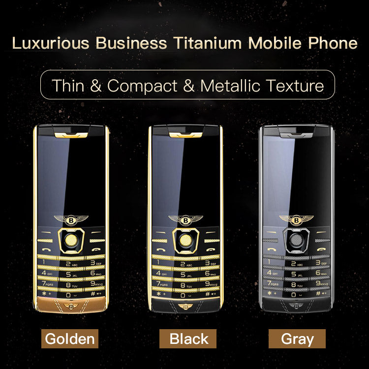 Luxurious Business Titanium Mobile Phone