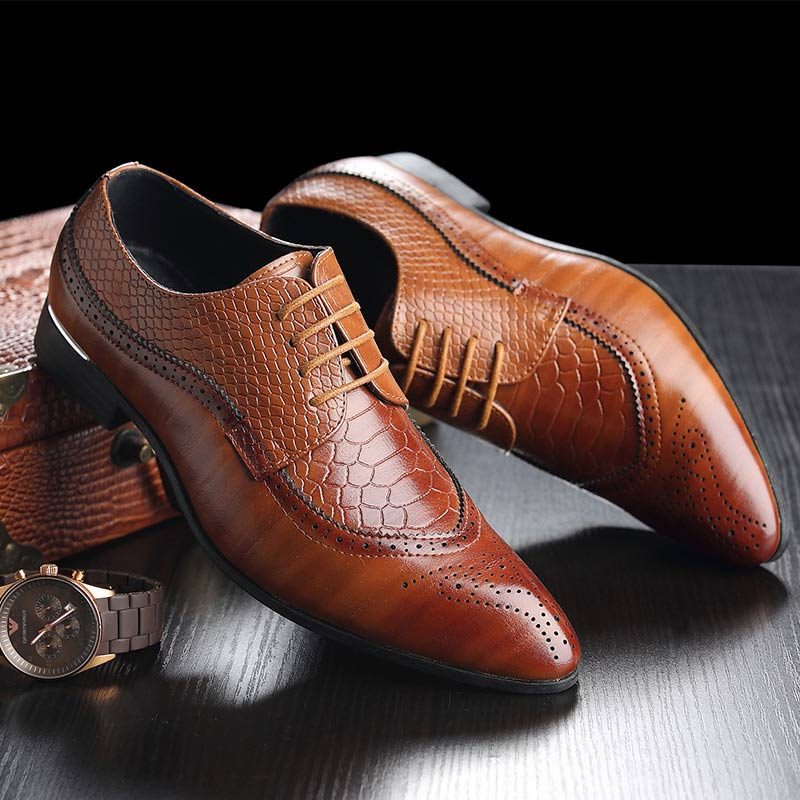 Men's business dress shoes