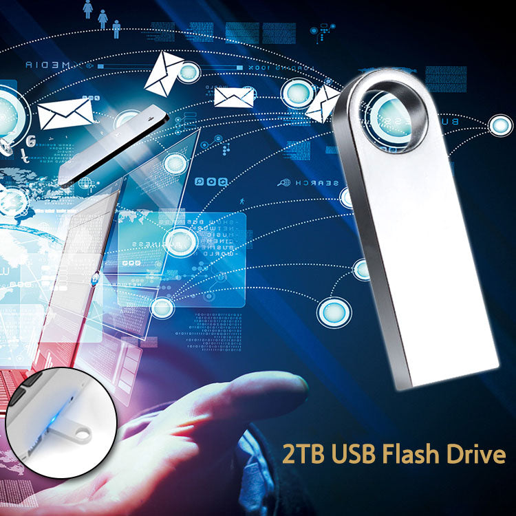 2TB Large Capacity Portable USB Flash Drive