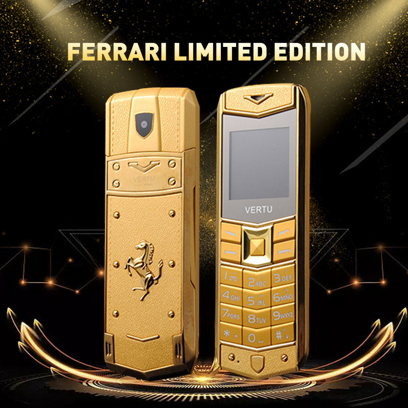 THE NEW VERTU FERRARI LIMITED EDITION