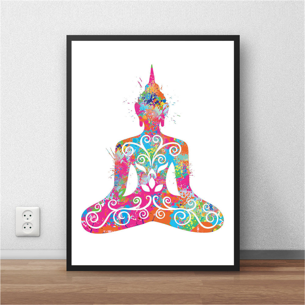 Abstract Watercolor Posters - The Room Bloom