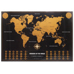 Personalized World Travel Map - The Room Bloom