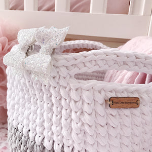 Crochet Toy Basket