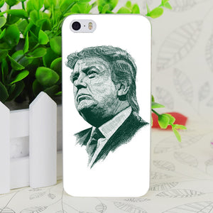 C3505 Donald John Trump Transparent Hard Thin Case Skin Cover For Apple IPhone 4 4S 4G 5 5G 5S SE 5C 6 6S Plus - magashoponline