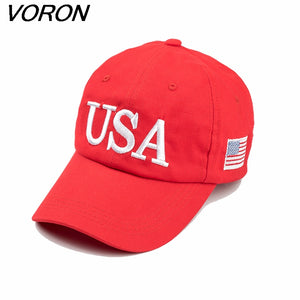 VORON 100% Cotton Popular USA Trump 45 President Red Baseball Cap men&women Fashion Cap Hats new 2017 - magashoponline