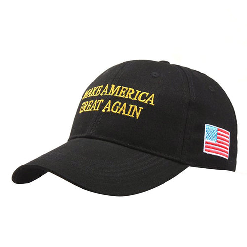 New Make America Great Again Donald Trump Campaign Hat Republican Cap Black - magashoponline