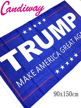 90 x 150cm     Trump flags printed polyester bunting flag activities        NN114 - magashoponline