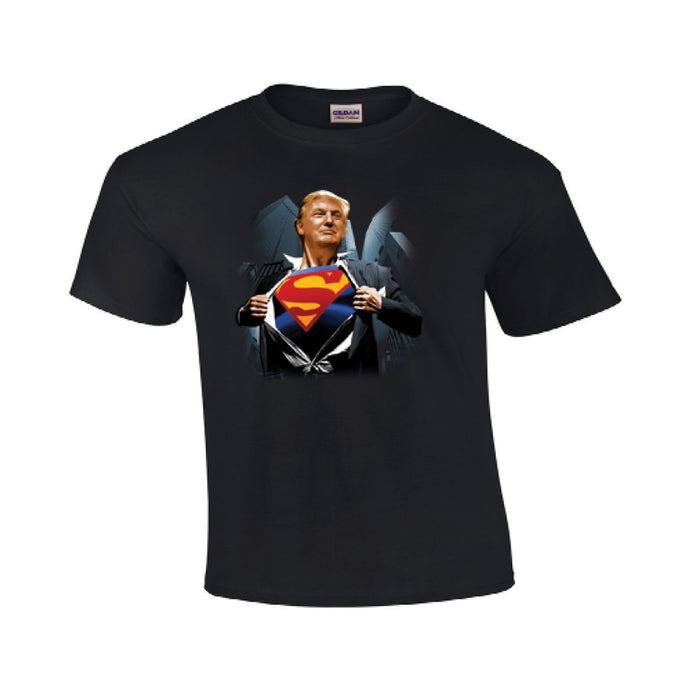 Super Donald Trump T Shirt For President Youth & Mens Gildan #78 - magashoponline