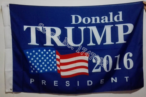 Donald Trump 2016 President Flag hot sell goods 3X5FT 150X90CM Banner brass metal holes - magashoponline