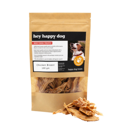Pure Chicken Treats 100grams