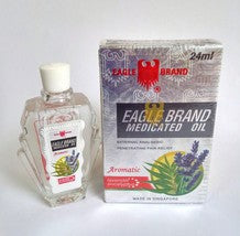 Eagle Brand Medicated Oil 24ml Eucalyptus