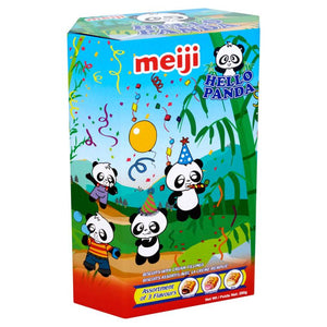 Meiji Hello Panda Assorted Flavoured Biscuits