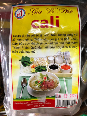 Cali Spice for PHO