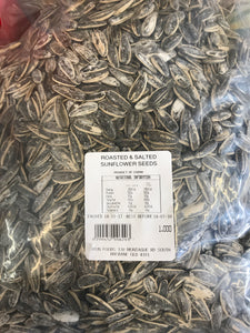 Dried Roasted Salted Sunflower Seeds 1kg