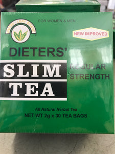 Nutri Leaf Slim Tea Regular Strength 30 bags
