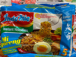 Mi goreng 5packs (flavoured)