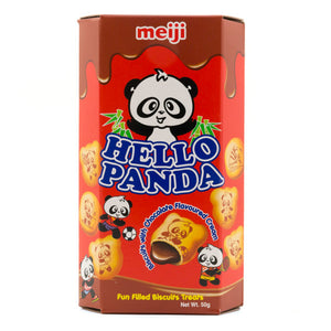 Meiji Hello Panda Chocolate Biscuits 50g