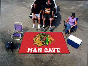 NHL - Chicago Blackhawks Man Cave UltiMat 5'x8' Rug