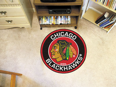 NHL - Chicago Blackhawks Roundel Mat