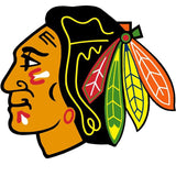 NHL Chicago Blackhawks Wallmarx Hockey Wall Accent Set