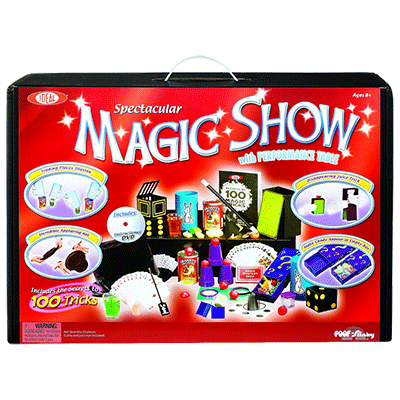 Spectacular 100 Trick Magic Suitcase (0C4769) by Ideal