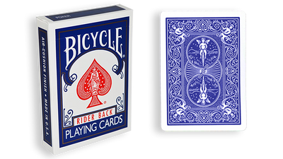 Assorted Blue Back Bicycle One Way Forcing Deck (assorted values)