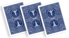 Bicycle Playing Cards 809 Mandolin Blue by USPCC